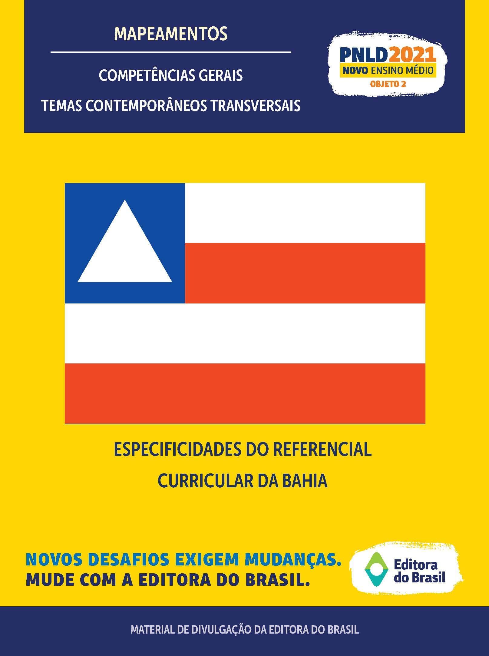 ESPECIFICIDADES DO REFERENCIAL CURRICULAR DA BAHIA