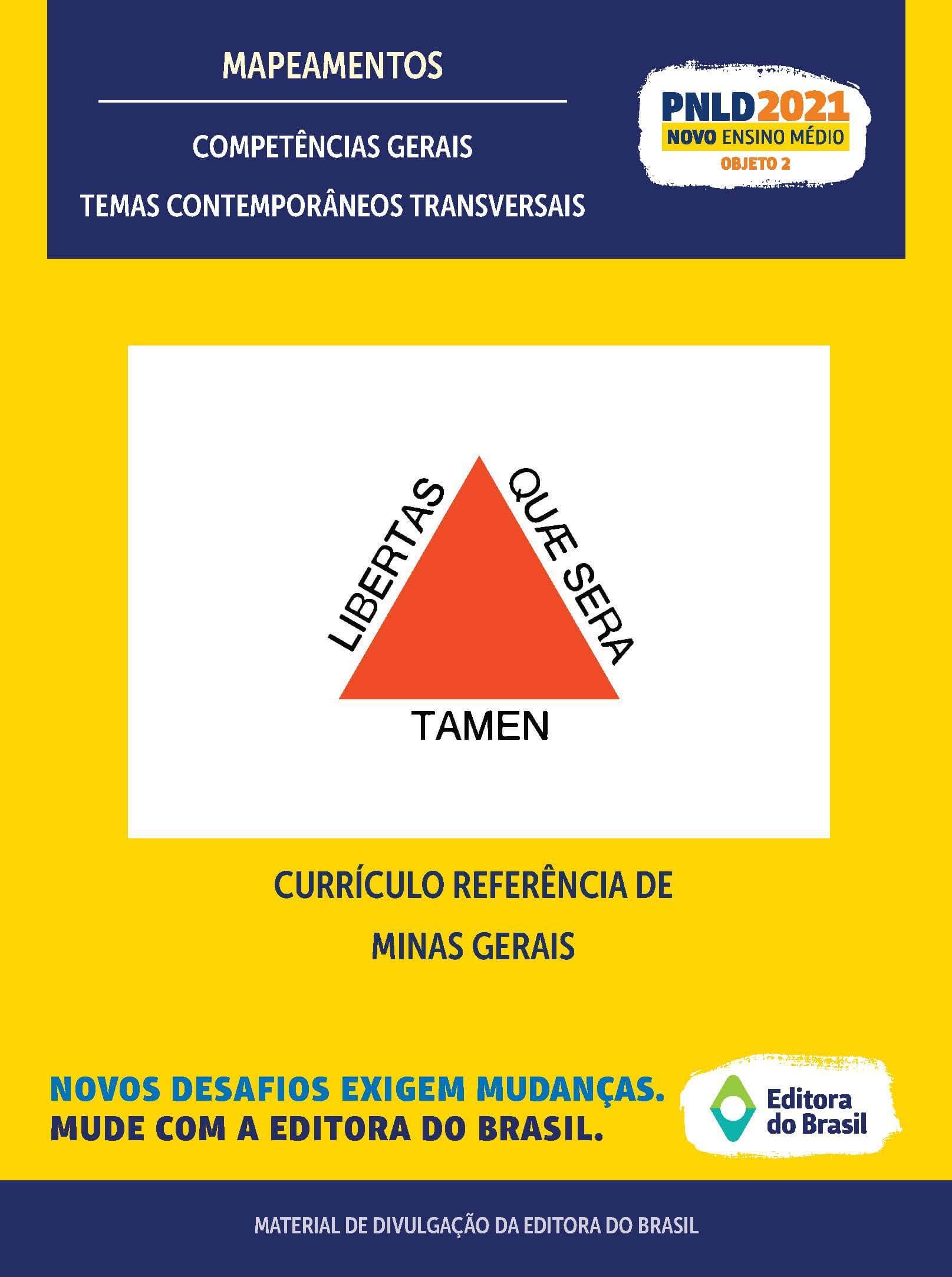 CURRÍCULO REFERÊNCIA DE MINAS GERAIS