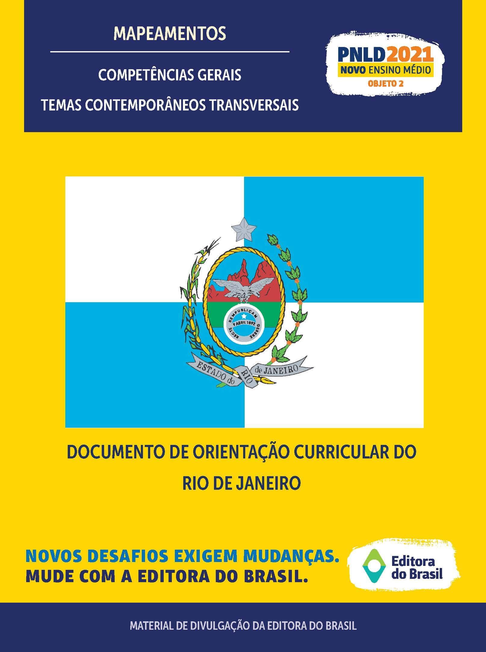 DOCUMENTO DE ORIENTAÇÃO CURRICULAR DO RIO DE JANEIRO